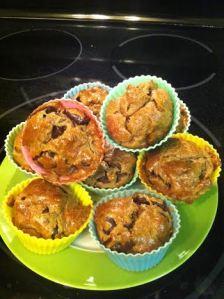 Regular sized Sunflower Butter Muffins