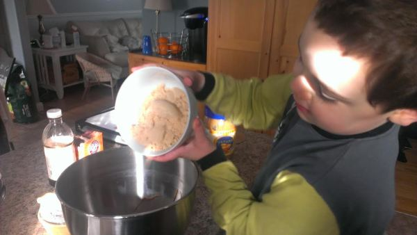 Add the brown sugar